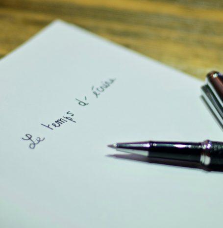 Le temps d'écrire - Valérie Chèze - Rédacteur - Traducteur