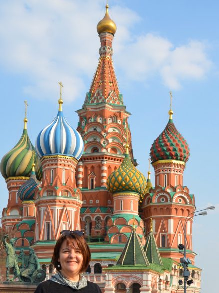 Valérie Chèze - Voyage - Moscou